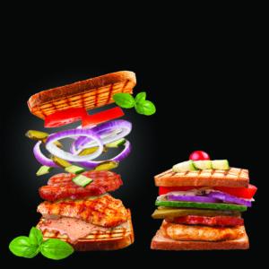 Сендвич Цыпленок-Бекон