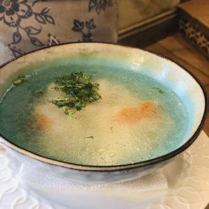 Суп лапша с курочкой