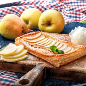 Тарт  с яблоком